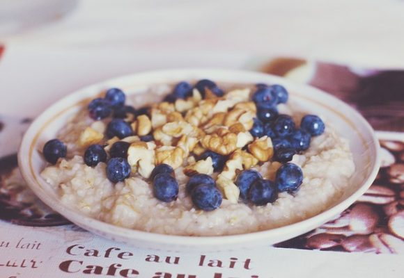 Oh So Amazing – Blueberry Muffin Overnight Oats